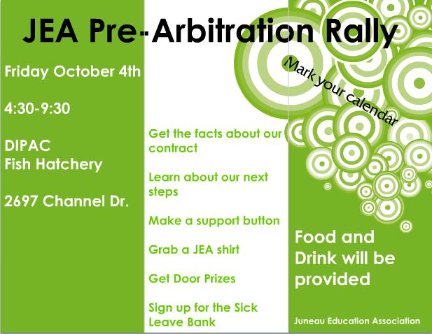 JEA Pre-Arbitration Rally