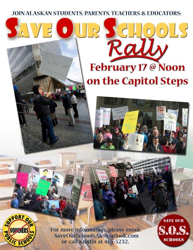SOS Rally Flyer