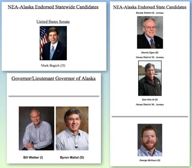 NEA-AK Endorsed Candidates pics