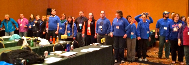 Unified as one state at the close of Delegate Assembly