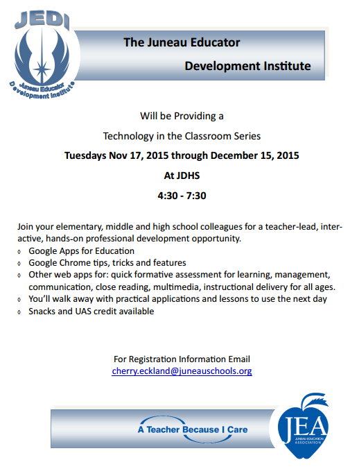JEDI: Technology in the Classroom Series