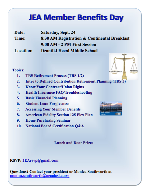 JEA Member Benefits Day